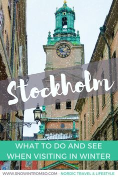Visit Stockholm in Winter - What to Do and See - Travel tips - Travel tour - travel ideas Sweden Travel, Norway Travel, Travel Tours, Travel Packing, Travel Outfits, Travel Destinations, Europe Packing, Traveling Europe, Travel Deals