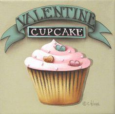 Valentine cupcake (Catherine Holman)