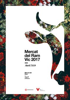 Poster by Xavier Esclusa Trias / Mercat del Ram Vic 2017