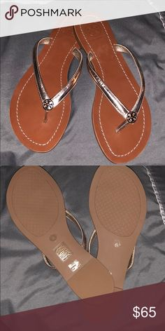 New Tory Burch sandals New Tory Burch sandals  Size 6 Color : Rose gold Tory Burch Shoes Sandals