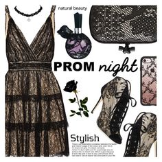 """The Perfect Prom Night"" by shoaleh-nia ❤ liked on Polyvore featuring Alice + Olivia, Jimmy Choo, Bottega Veneta and Casetify"