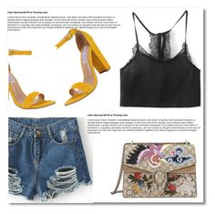 """#1"" by aida-nurkovic ❤ liked on Polyvore featuring Gucci and Steve Madden"