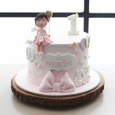 Pink everything #mutludukkan #sekerhamuru #butikpasta #sugarart