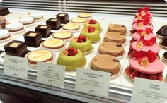 The Pastries & Pastry Shops of Paris French Bakery, French Cafe, French Pastries, Pastry Shop, Sweet Tarts, Tart Recipes, Mini Cupcakes, Treats, Desserts