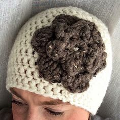A personal favorite from my Etsy shop https://www.etsy.com/listing/243609663/crocheted-flower-winter-hat