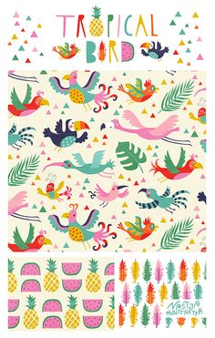 I´m an illustrator, surface and pattern designer, living in Berlin, germany.