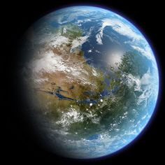Funny pictures about Terraforming Mars. Oh, and cool pics about Terraforming Mars. Also, Terraforming Mars photos. Red Planet, Planet Earth, Earth 2, Carl Sagan, Cosmos, Mars And Earth, Google Earth, Universe Today, Geography