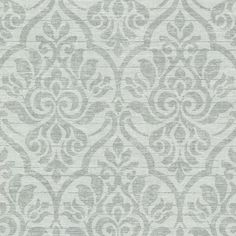 Color options make the damask pattern on the Beacon House Malia Heirloom Damask Wallpaper sing. This non-woven, unpasted wallpaper is washable for. Paisley Wallpaper, Trellis Wallpaper, Embossed Wallpaper, Paper Wallpaper, Geometric Wallpaper, Wallpaper Roll, Wallpaper Ideas, Wallpaper Backgrounds, Burgundy Walls