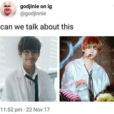 From baby to daddy is one of taehyung habits Kpop, Jin Dad Jokes, Hoseok, Seokjin, Les Bts, Bts Tweet, About Bts, Life Humor, Namjin
