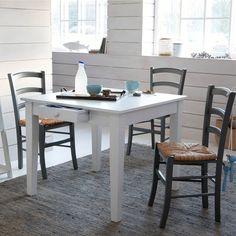 Salon de jardin table et 2 chaises pliantes en acier Pop rouge ...