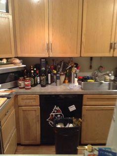Przechowywanie w kuchni before
