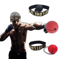 """Universe of goods - Buy """"Boxing Reflex Speed Punch Ball MMA Sanda Boxer Raising Reaction Force Hand Eye Training Set Stress Boxing Muay Thai Exercise"""" for only USD. Kick Boxing, Boxing Fight, Speed Training, Boxing Training, Mma, Punching Ball, Combat Boxe, Boxing Punches, Intense Workout"""