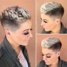 Wife's hair cuts