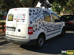 Photohire Van, Signs, Vehicles, Ideas, Shop Signs, Car, Vans, Thoughts, Sign