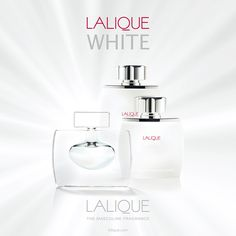 LALIQUE WHITE Crystal Ad1 | Perfume for men | Lalique Parfums