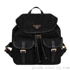 b3af8da0aa8a ... sale fashion prada microfiber nylon drawstring backpack bag outlet store  f339c 9fa39