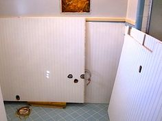 Charming How To Cover Dated Bathroom Tile With Wainscoting | Pictures, Tile And  Pretty Much Design Ideas