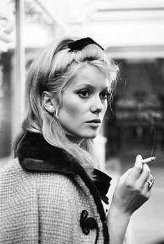 Catherine Deneuve #styleicon