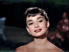 Afbeeldingsresultaat voor audrey hepburn makeup