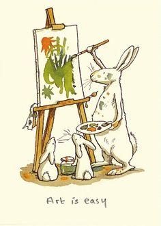 Art Is Easy by Anita Jeram