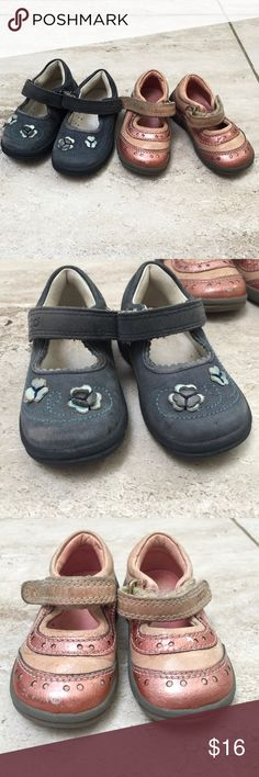 Two pairs Ecco Toddler Shoes Size Euro 19