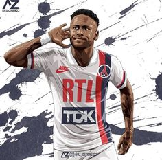 World Football, Cartoon Images, Psg, Neymar, Fifa, Sports, Wallpaper Ideas, Poster, Iphone