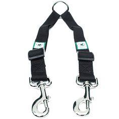 No Tangle Dog Leash Coupler and Double Dog Walker Two Dog Adjustable Lead and Dog Trainer Leash for Dog Bug Out Bag