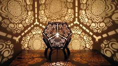 Laser-Cut Shadow Lamps Shine by Design - http://freshome.com/laser-cut-shadow-lamps/