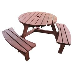 Found it at Joss & Main - Carolyn 3-Bench Picnic Table