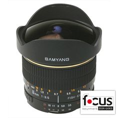 Samyang 8mm f/3.5 Fisheye Sony