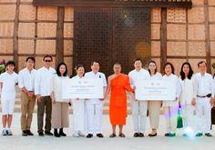 นายธนินท์ – คุณหญิงเทวี เจียรวนนท์ และครอบครัว ร่วมพิธีถวายวิปัสสนาคารนานาชาติ ณ ไร่เชิญตะวัน จ.เชียงราย - http://www.thaimediapr.com/%e0%b8%99%e0%b8%b2%e0%b8%a2%e0%b8%98%e0%b8%99%e0%b8%b4%e0%b8%99%e0%b8%97%e0%b9%8c-%e0%b8%84%e0%b8%b8%e0%b8%93%e0%b8%ab%e0%b8%8d%e0%b8%b4%e0%b8%87%e0%b9%80%e