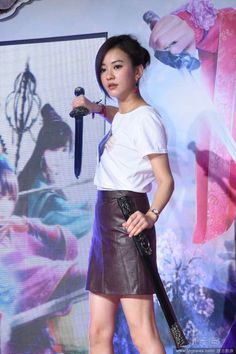 Taiwanese actress Ivy Chen  http://www.chinaentertainmentnews.com/2015/11/ivy-chen-to-challenge-50km-marathon-on_9.html
