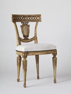 gorgeous french style chair by Tara Shaw Maison