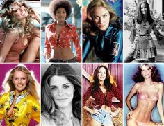 Charlie's Angels & 1970's GLAM!