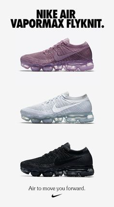 Shoes A Air to move your forward. Learn more about the Nike Air VaporMax Flyknit at .Air to move your forward. Learn more about the Nike Air VaporMax Flyknit at . Sneakers Mode, Cute Sneakers, Cute Shoes, Me Too Shoes, Shoes Sneakers, Unique Shoes, Basket Originale, Fashion Boots, Sneakers Fashion