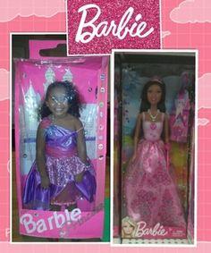 Barbie princess in Her Box