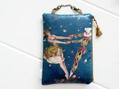 Hanging Cosmetic Bag by jigglemawiggle on Etsy, £13.00