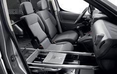 New Peugeot Partner Showroom Bench Seat, Peugeot, Car Seats, Van, Interior, Indoor, Interiors, Vans, Vans Outfit