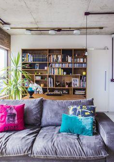 Open house - Gui Berenguer. Veja: http://casadevalentina.com.br/blog/detalhes/open-house--gui-berenguer-2915  #decor #decoracao #interior #design #casa #home #house #idea #ideia #detalhes #details #openhouse #style #estilo #casadevalentina #livingroom #saladeestar
