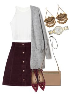 """""""count"""" by foreverfashionfever101 on Polyvore featuring Oasis, Charlotte Olympia and FOSSIL"""