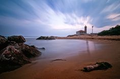 Bibione lighthouse #landscape #photography #long #exposure