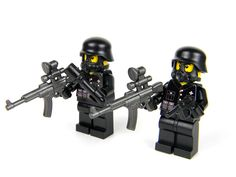 custom German WW2 wehrmacht Heavy Assault Soldiers made with real LEGO(R)  #LEGO