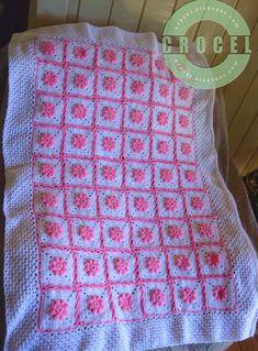 Puntos a crochet para colchas de bebé - Imagui