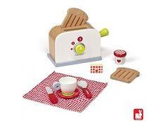 Janod Houten broodrooster voor een lekker ontbijtje