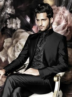 Groom Fashion 2016 - 15 Haute Couture Outfits for the fashion conscious man Haute Couture Outfits, Couture Fashion, Gothic Wedding, Wedding Men, Wedding Suits, Suit Fashion, Mens Fashion, Groom Fashion, Fashion 2016