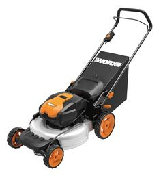 WORX 19 in. 13 Amp Caster Wheeled Electric Lawn Mower - The WORX 19 in. 13 Amp Caster Wheeled Electric Lawn Mower mulches, bags, and discharges with ease. This durable mower moves with ease on its. Best Lawn Mower, Best Riding Lawn Mower, Lawn Mower Tractor, Riding Mower, Lawn Mower Battery, Electric Mower, Revolution, Cordless Lawn Mower, Walk Behind Lawn Mower