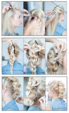 I love this style! I've never seen it done like this before.