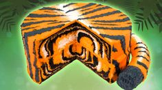 How to Make a Tiger Cake from Cookies Cupcakes and Cardio
