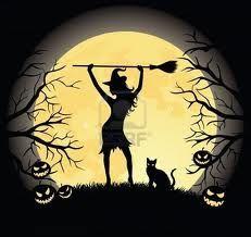 gatos y brujas
