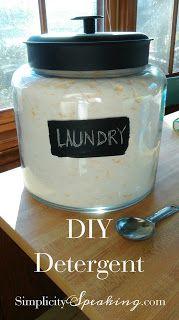 DIY Detergent